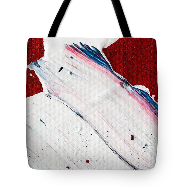 Abstract Original Artwork One Hundred Phoenixes Untitled Number Nine Tote Bag