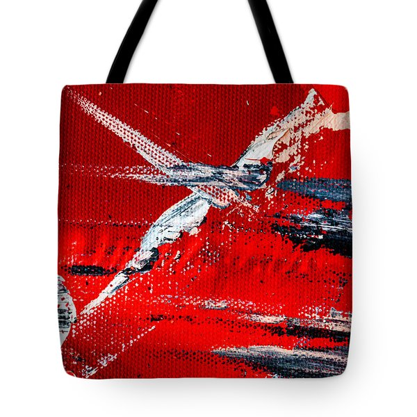 Abstract Original Artwork One Hundred Phoenixes Untitled Number Seven Tote Bag