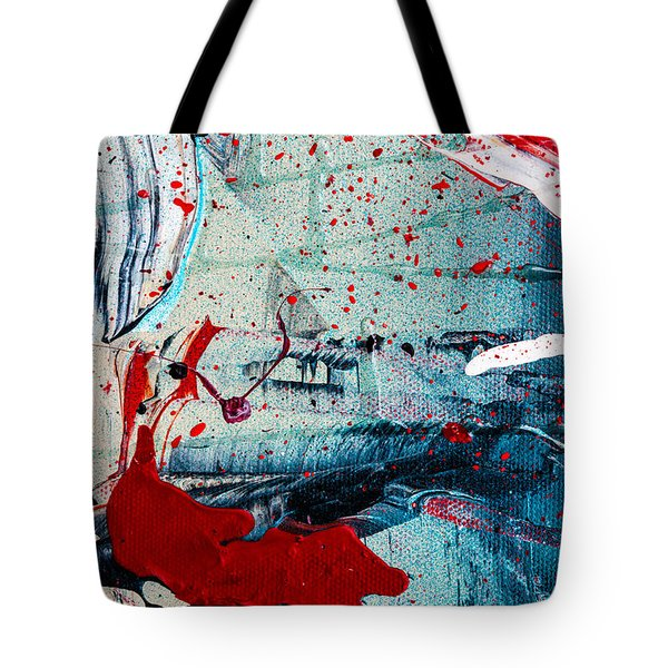 Abstract Original Artwork One Hundred Phoenixes Untitled Number Six Tote Bag