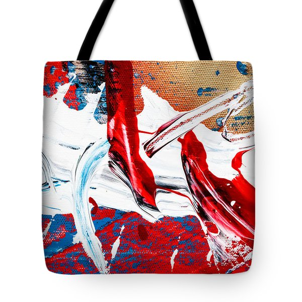 Abstract Original Artwork One Hundred Phoenixes Untitled Number Two Tote Bag