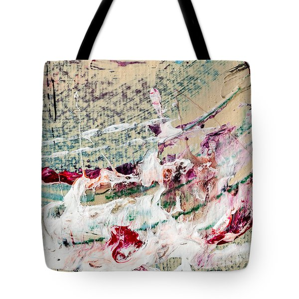 Abstract Original Painting Number Eight Tote Bag