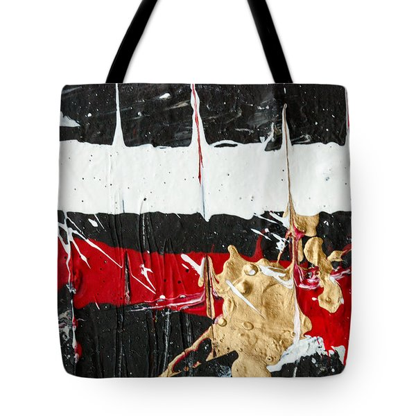 Abstract Original Painting Number Five Tote Bag