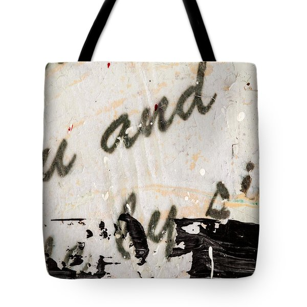 Abstract Original Painting Number Six Tote Bag