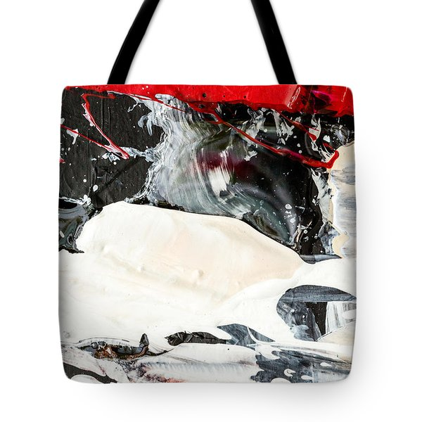 Abstract Original Painting Number Three Tote Bag