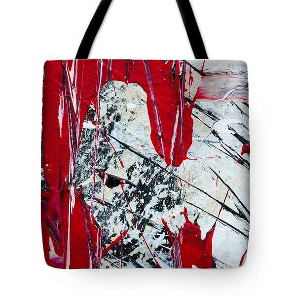 Abstract Original Painting Untitled Nine Tote Bag