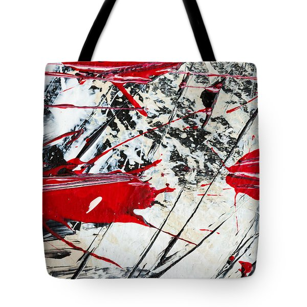 Abstract Original Painting Untitled Ten Tote Bag