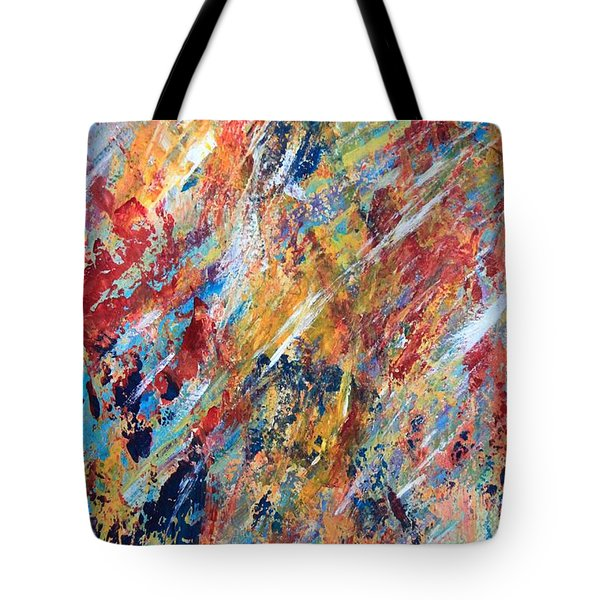 Abstract Painting Tote Bag by AR Annahita