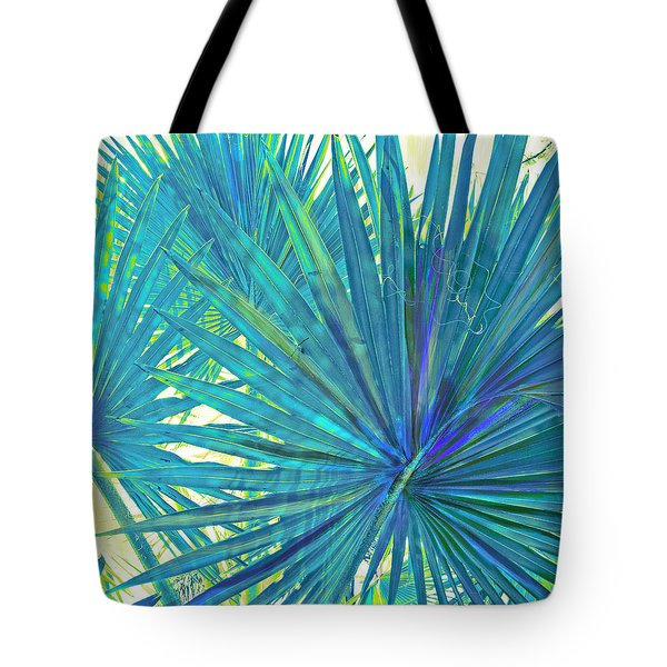 Abstract Palm 2 Tote Bag by Jane Schnetlage