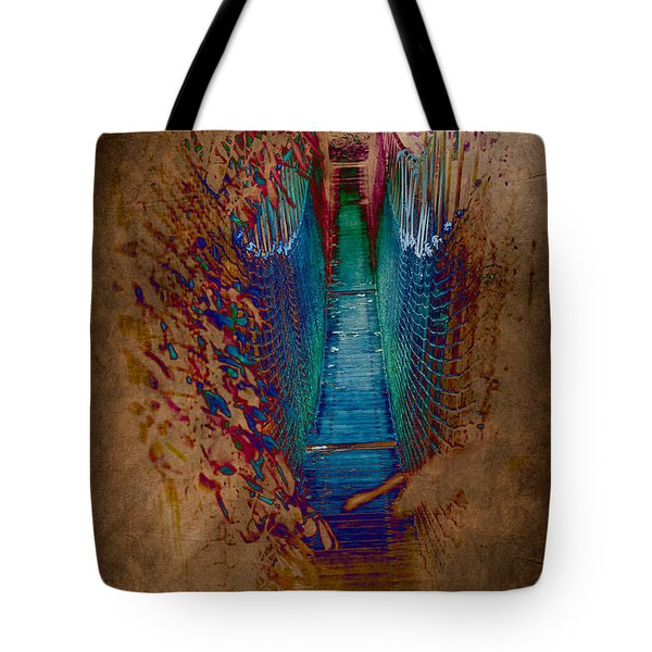 Abstract Path Tote Bag by Loriental Photography