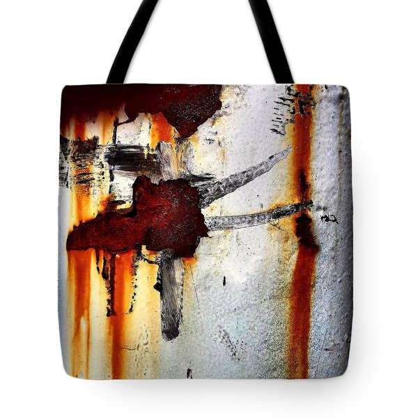 Abstract Post Tote Bag