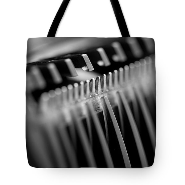 Abstract Razor Tote Bag