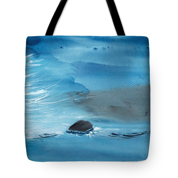 Abstract Reality Mix 2 Tote Bag by Anil Nene
