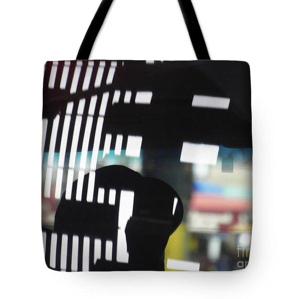 Abstract Reflection 18 Tote Bag by Sarah Loft