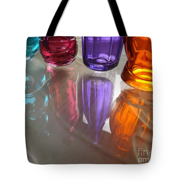 Abstract Reflections #4 Tote Bag