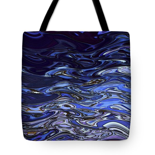 Abstract Reflections - Digital Art #2 Tote Bag