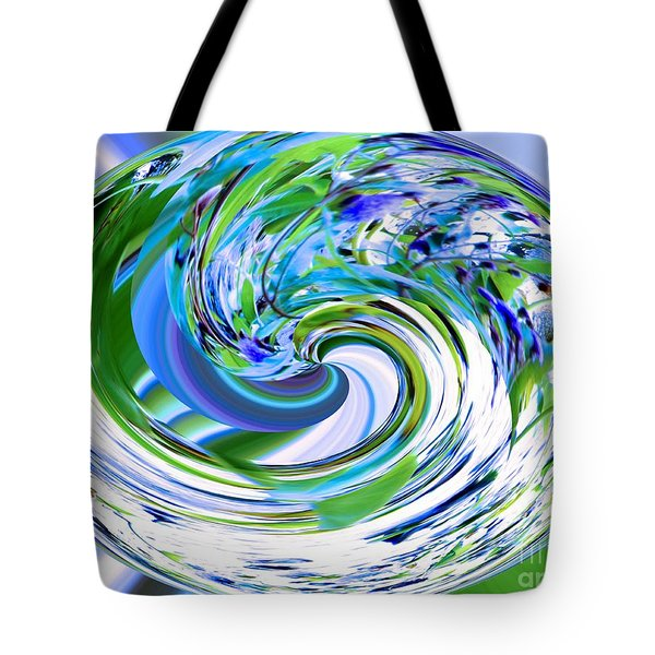 Abstract Reflections Digital Art #3 Tote Bag
