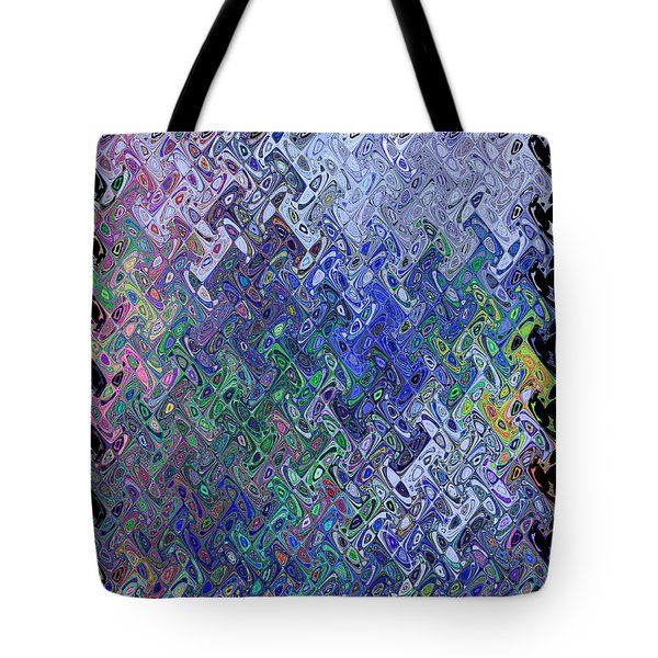 Abstract Reflections Tote Bag