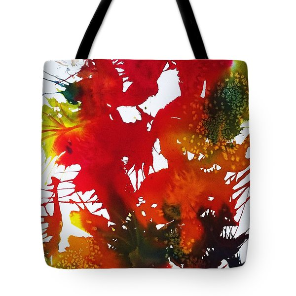 Abstract - Riot Of Fall Color II - Autumn Tote Bag