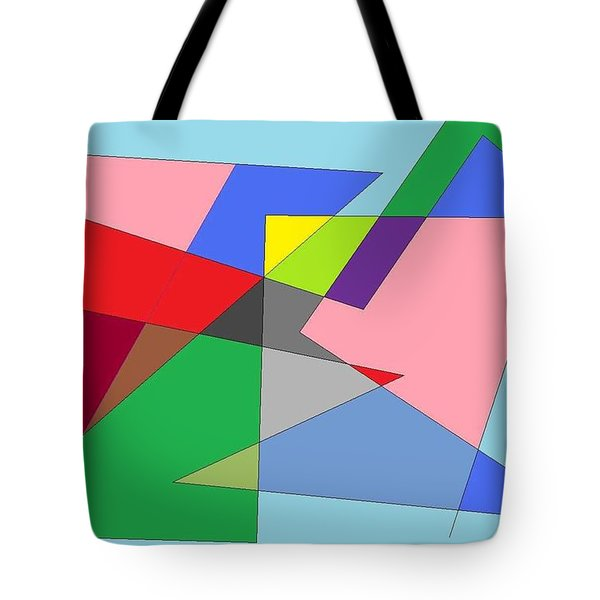 Abstract Tote Bag by Ron Davidson
