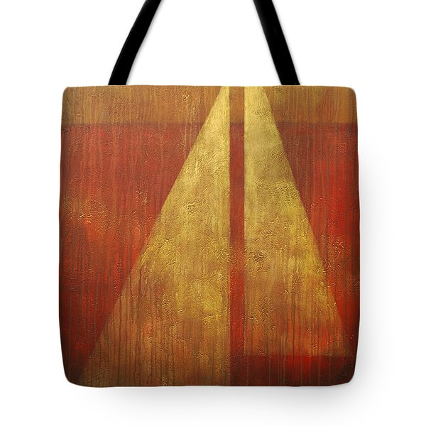 Abstract Sail Tote Bag