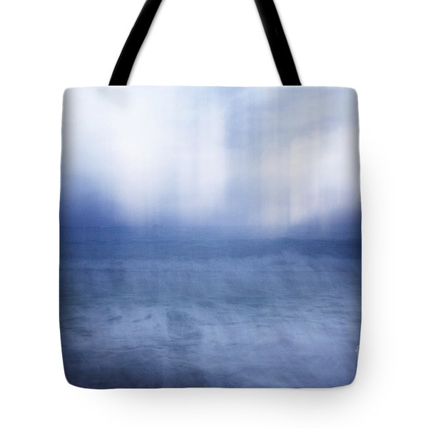 Tote Bag featuring the photograph Abstract Seascape by Charmian Vistaunet