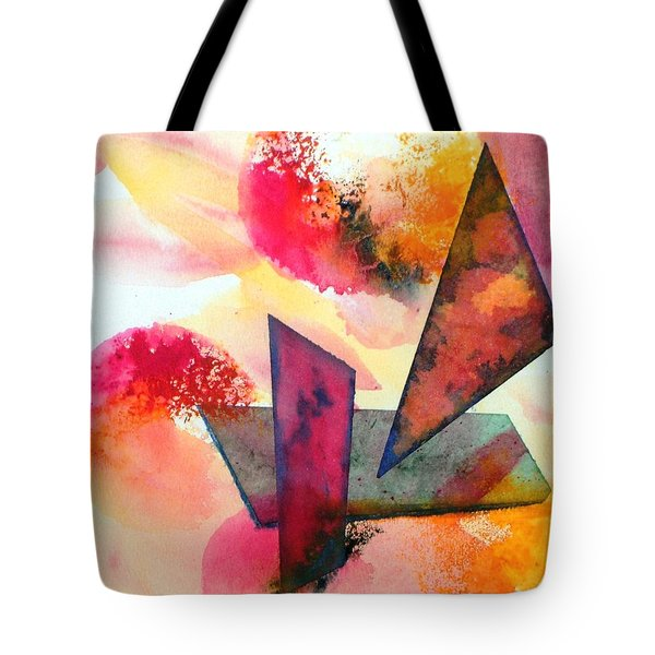 Abstract Shapes Tote Bag