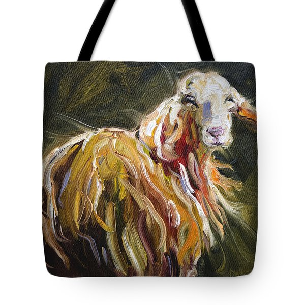 Abstract Sheep Tote Bag