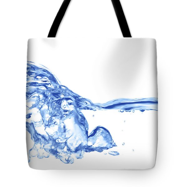 Abstract Soar Water  Tote Bag by Michal Boubin