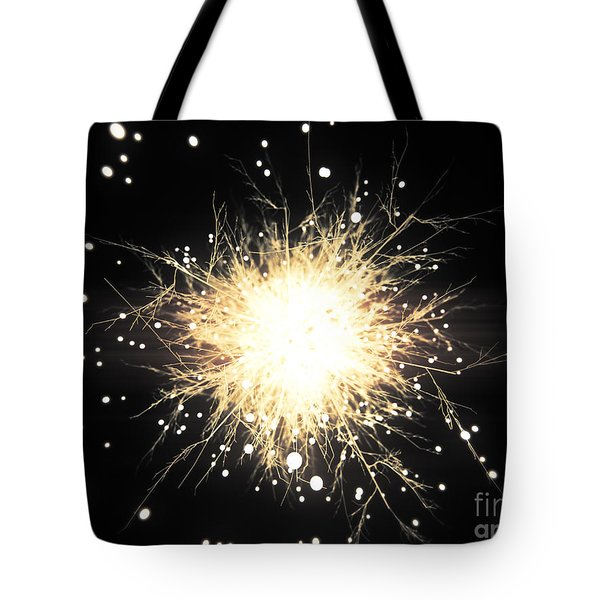 Abstract Sparkle Tote Bag by Pixel Chimp