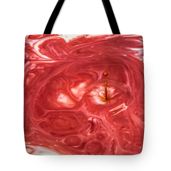 Tote Bag featuring the photograph Abstract Splash 2 by John Crothers