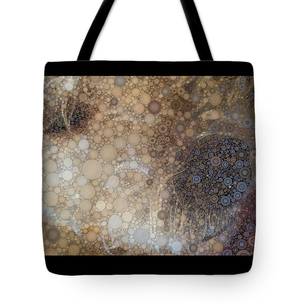 Abstract Study Of The Nose Of The Bichon Frise Tote Bag