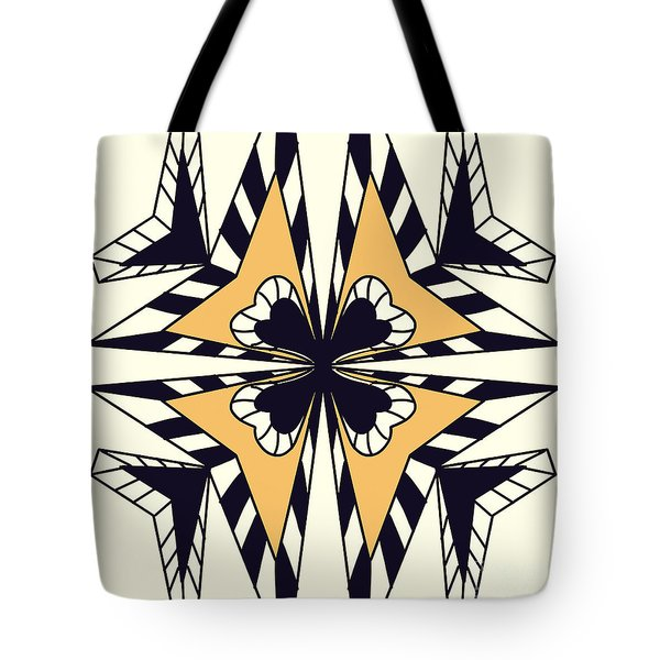 Abstract Symmetry-2 Tote Bag