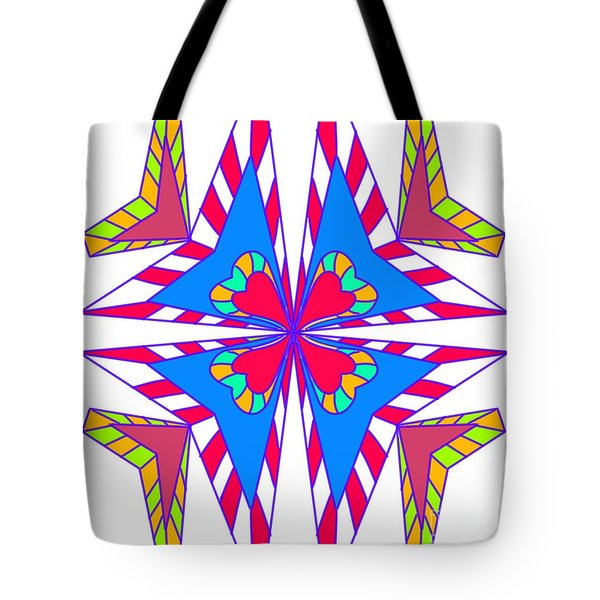 Abstract Symmetry Tote Bag
