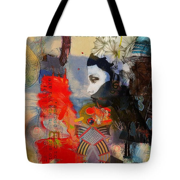 Abstract Tarot Art 011 Tote Bag by Corporate Art Task Force