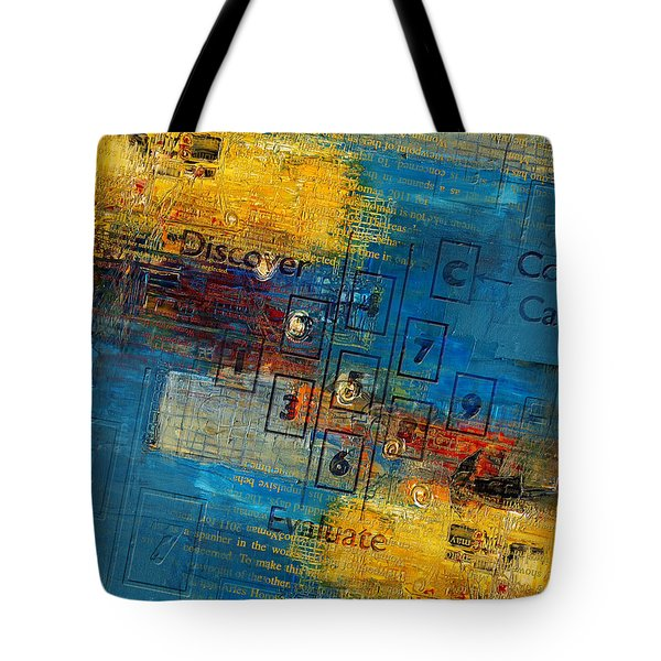 Abstract Tarot Art 016 Tote Bag by Corporate Art Task Force
