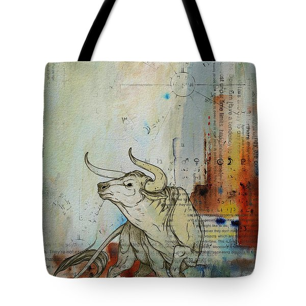 Abstract Tarot Art 017 Tote Bag by Corporate Art Task Force
