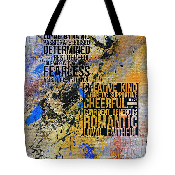 Abstract Tarot Art 018 Tote Bag by Corporate Art Task Force