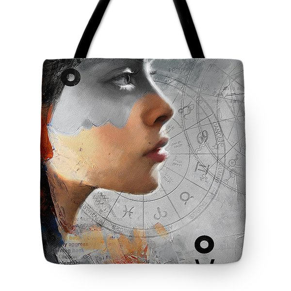Abstract Tarot Art 019b Tote Bag by Corporate Art Task Force