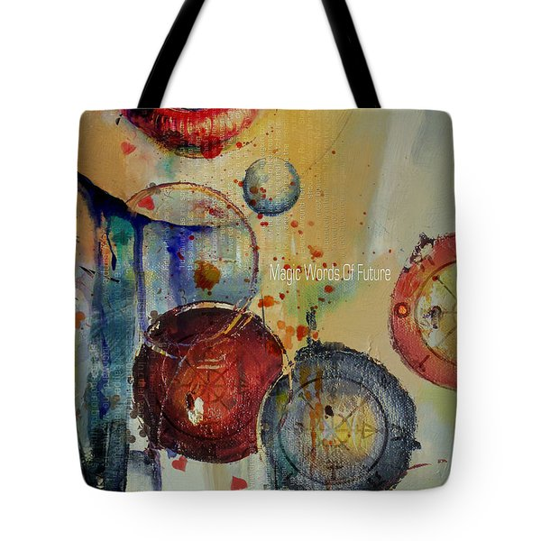 Abstract Tarot Art 021 Tote Bag by Corporate Art Task Force