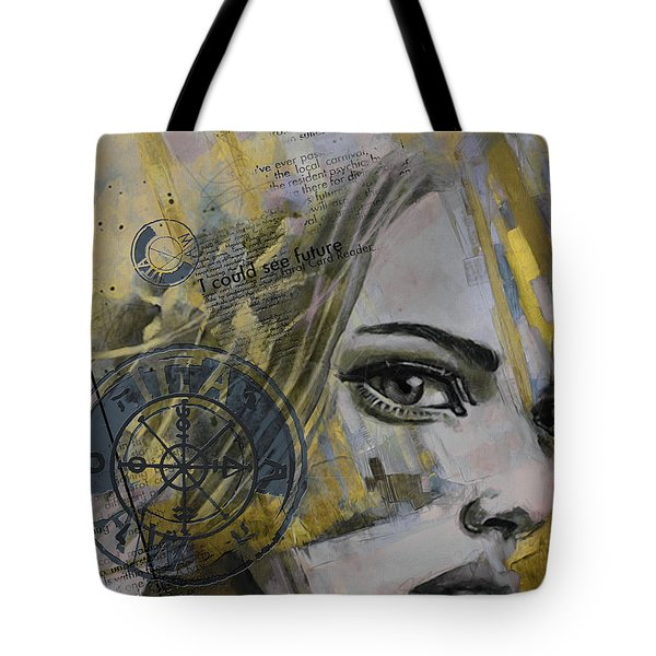 Abstract Tarot Art 022b Tote Bag by Corporate Art Task Force
