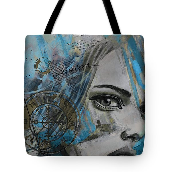 Abstract Tarot Art 022c Tote Bag by Corporate Art Task Force