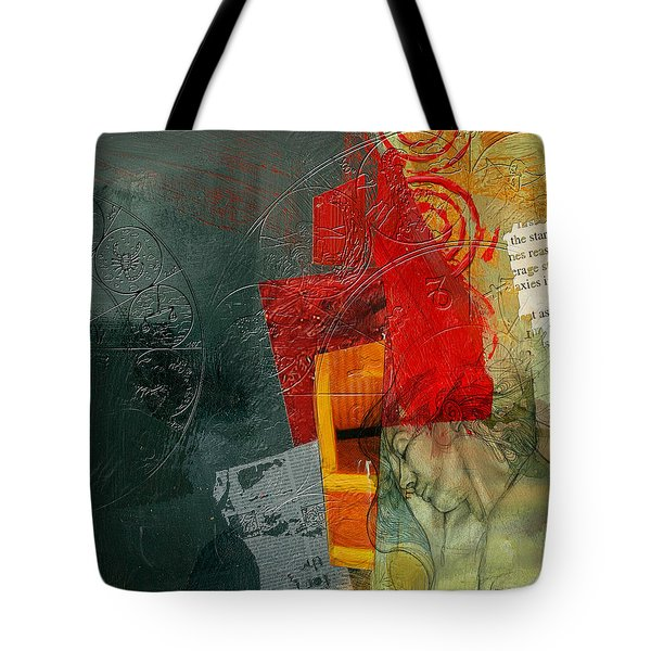 Abstract Tarot Card 004 Tote Bag by Corporate Art Task Force