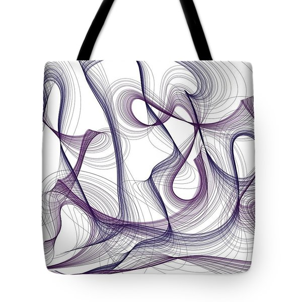Abstract Thoughts Tote Bag