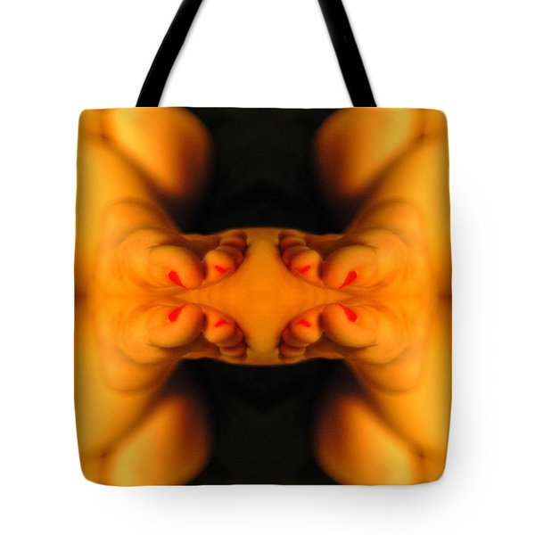 Abstract Toes Tote Bag