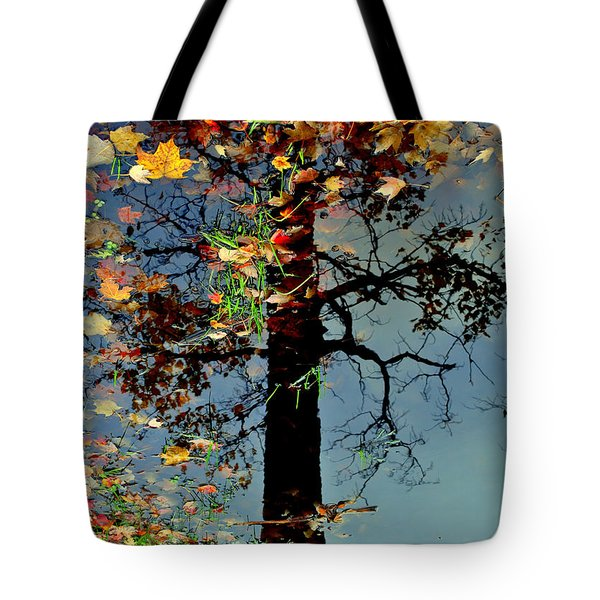 Abstract Tree Tote Bag by Frozen in Time Fine Art Photography