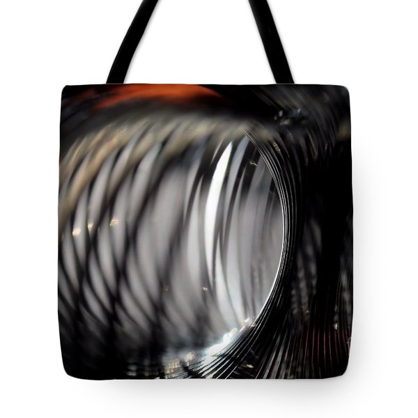 Tote Bag featuring the photograph Abstract Tunnel by Kenny Glotfelty