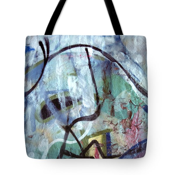 abstract urban art - Paint Your Mountain Tote Bag