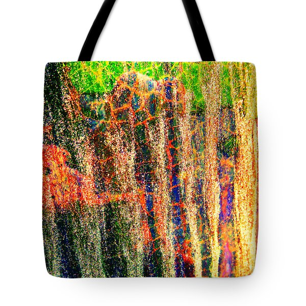 Abstract Vibe 2 Tote Bag
