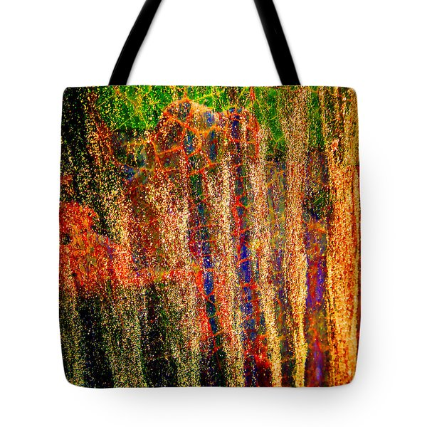 Abstract Vibe 3 Tote Bag