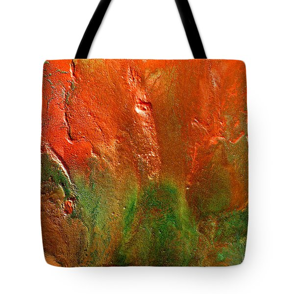 Abstract Vintage Landscape  Tote Bag